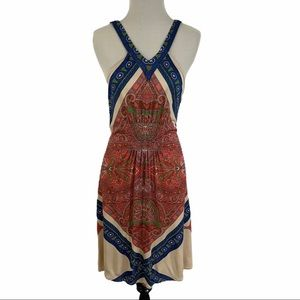 LEIFNOTES | Boho Paisley Swing Dress